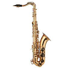 More details for tenor saxophone brass -plated bb b flat sax for professional musicians d3y6