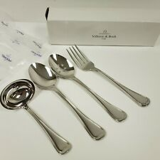 Villeroy & Boch French Garden 4-Piece Hostess Set 18/10 Stainless Steel