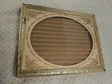 Vtg Gold Tone Embossed 3x4 Picture frame