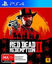 Red Dead Redemption 2 II - Playstation 4 (PS4) Brand New Sealed