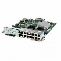 Cisco Gigabit Enhanced EtherSwitch Module Layer 2/3 Switching PoE SM-ES3G-16-P