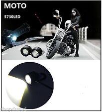 2 x Phare Projecteur Guidon a LED Harley Café Racer CBR Triumph Honda BMW Virago