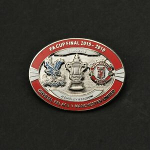 MANCHESTER UNITED  - FA CUP FINAL 2016 PIN BADGE