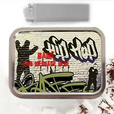 Hip Hop Graffiti Wall Art 2oz Tobacco Tin Baccy Pouch Personalised Gift ST159