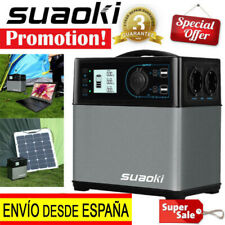 Suaoki Multifunción 400Wh Power Bank Energía Solar Cargador de Batería Portátil