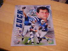 Andrew Luck Portrait Plus Officially LICENSED 8X10 Photo  FREE SHIPPING 3/more
