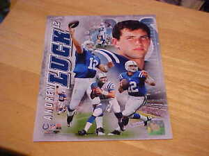 Andrew Luck Portrait Plus Officially LICENSED 8X10 Photo