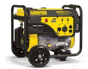 Champion 3400-Watt Portable Generator - BRAND NEW