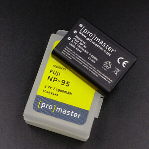 Promaster NP-95 Li-Ion Rechargeable Battery For Fujifilm  Cameras.    #C50029