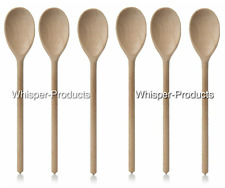 Apollo 12-Inch Wooden Spoon for Beech Cooking/Baking Kitchen