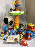 Large baby Toy Bundle 6 Months + Sensory, Tactile, Rattles, Teether Etc