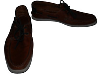 Mens Ask the Missus Leather Shoes Size 45 UK 10 Lace Up