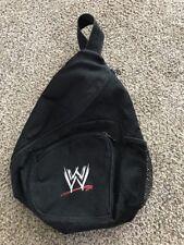 Vintage WWE Side Book Bag WWF wrestling rock austin flare hogan rollins