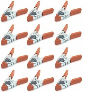 """24 Pack 6"""" inch Clamp Heavy Duty Spring Metal - 2.5 inch Jaw opening maximum"""