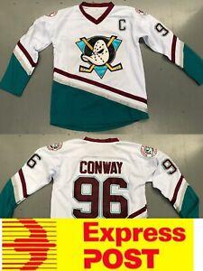 Ice Hockey Anaheim Mighty Ducks Jersey, #96 Conway Jersey