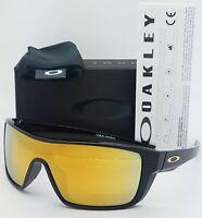 NEW Oakley Straightback sunglasses Black 24k Iridium 9411-0227 Straight 9411-02