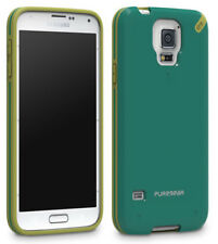 PUREGEAR SLIM SHELL TEAL/GREEN CASE HARD COVER FOR SAMSUNG GALAXY S5