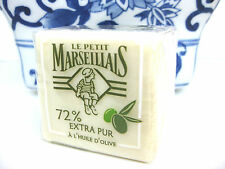 OLIVE OIL SOAP HANDMADE Provence Le Petit Marseilliais 72% FRENCH SOUTH FRANCE
