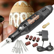 DIY 15Pcs Electric Engraving Engraver Pen Carve Tool Kit For Jewelry Metal Glass