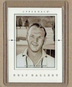 2001 Upper Deck Gallery Insert Golf Card #GG3 Arnold Palmer