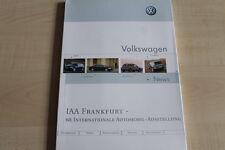 161840) VW Phaeton Touareg Polo Fun - IAA - Pressemappe 09/1993