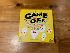 GAME OFF Card Game For The Family 3+ Players / Ages 5+ Good Condition