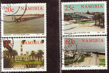 NAMIBIA 1992 VIEWS OF SWAKOPMUND COMPLETE POSTALLY USED SET 1684
