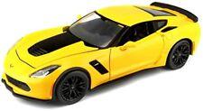 Chevrolet Corvette Z06 Jaune 2015 Maisto 1/24 1 24