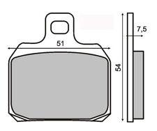 coppia pastiglie piaggio x9 180-250-500 anteriori/posteriori RMS Freni