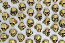 Wholesale Mixed 20Ps Skull Bronze Men's Rings Jewelry Big Biker Punk Finger Ring