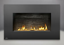 Napoleon Plazmafire™ 31 Direct Vent Gas Fireplace Black Rectangular Surround