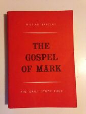The Gospel Of Mark William Barclay Daily Study Bible PB 1966 Saint Andrews Press