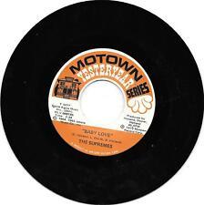 Supremes-Baby Love/dónde nuestro amor Go-Motown antaño-ex.