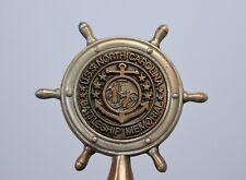 USS North Carolina Battleship Memorial Souvenir Bell metal