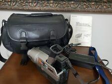 Sony Dcr-Trv140 Digital Hi8 8mm Handycam Bundle Video Transfer Tested Working