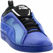 Puma Alexander McQueen Brace Low Sneakers Casual  Stability Sneakers Blue Mens -