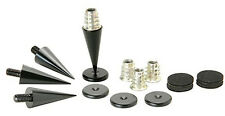 Dayton Audio DSS3-BK Black Speaker Spike Set 4 Pcs.