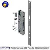 Flüster Comfort Tür Schloss 55 Dorn BB PZ WC Stulp Edelstah 20 mm abgerundet