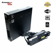 Lenovo M93P Mini Desktop PC i5 4th 8GB/16GB RAM 128/256/512GB SSD/500GB HDD