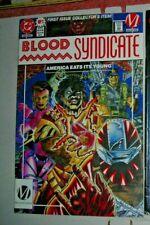 Blood Syndicate #1 DC COMIC VF April 1993 ONLY 1 ON EBAY UK COWAN McDUFFIE