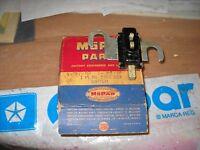 NOS MOPAR 1949-50 HAND BRAKE SIGNAL FLASHER SWITCH PLY-DOD-DESOTO
