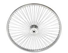 "24"" x 1.75 Hollow Hub Wheel 72 Spokes Cruiser Lowrider Trike Bikes"