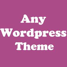 Instalar cualquier Wordpress tema en su sitio Web Wordpress