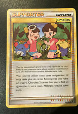 CARTE POKEMON DRESSEUR SUPPORTER  -  JUMELLES