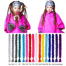"41"" Kanekalon Super Soft Jumbo Braid Synthetic Fiber Hair Extension Ombre Twist"