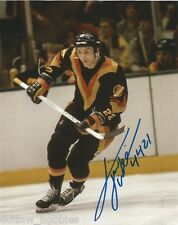 Vancouver Canucks Tiger Williams Signed Autographed 8x10 NHL Photo COA PIM B