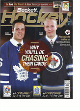 BECKETT HOCKEY' MAGAZINE,  NOVEMBER, 2016     WHY YOU'LL BE CHASING THEIR CARDS