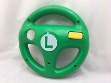 Nintendo Wii U Hori Mario Kart 8 Steering Wheel Luigi Green Tracking from Japan