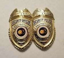 NASA Security Protective Service PROTOTYPE Badge Set.2 DIFFERENT Badges Included