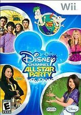 FREE SHIPPING - Disney Channel All Star Party (Nintendo Wii, 2010)